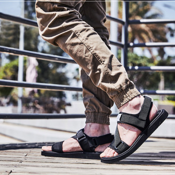 2020 New Summer Men's Beach Shoes Men's Sandals open-toed Casual Sandals and Slippers Comfortable Sandalias Mujer,Big Size 38-45