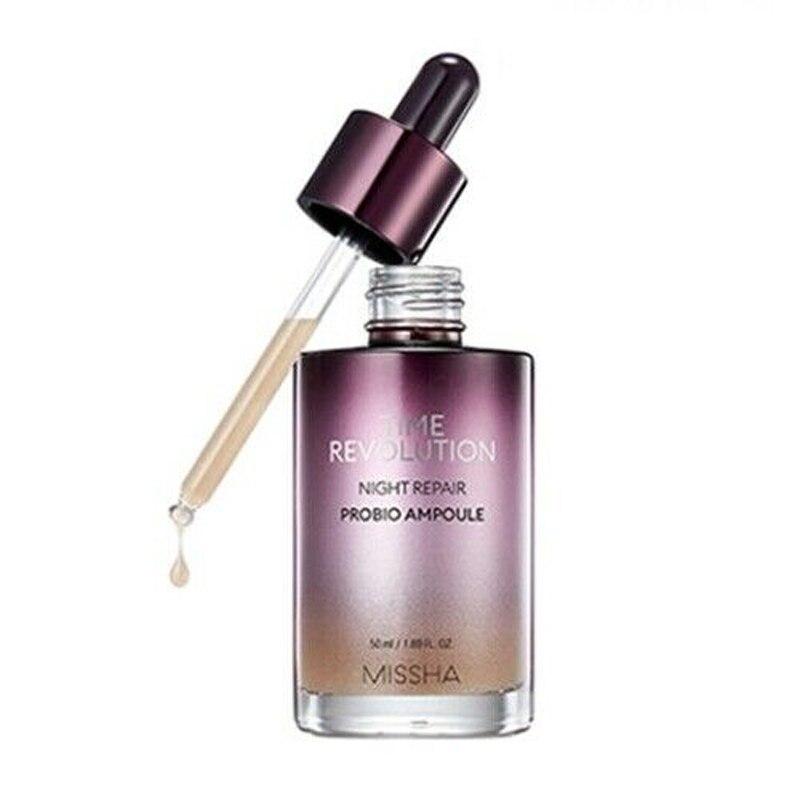 MISSHA Time Revolution Night Repair Borabit Ampoule 50ml Facial serum Whitening Anti Wrinkle Moisturizing Treatment Essence