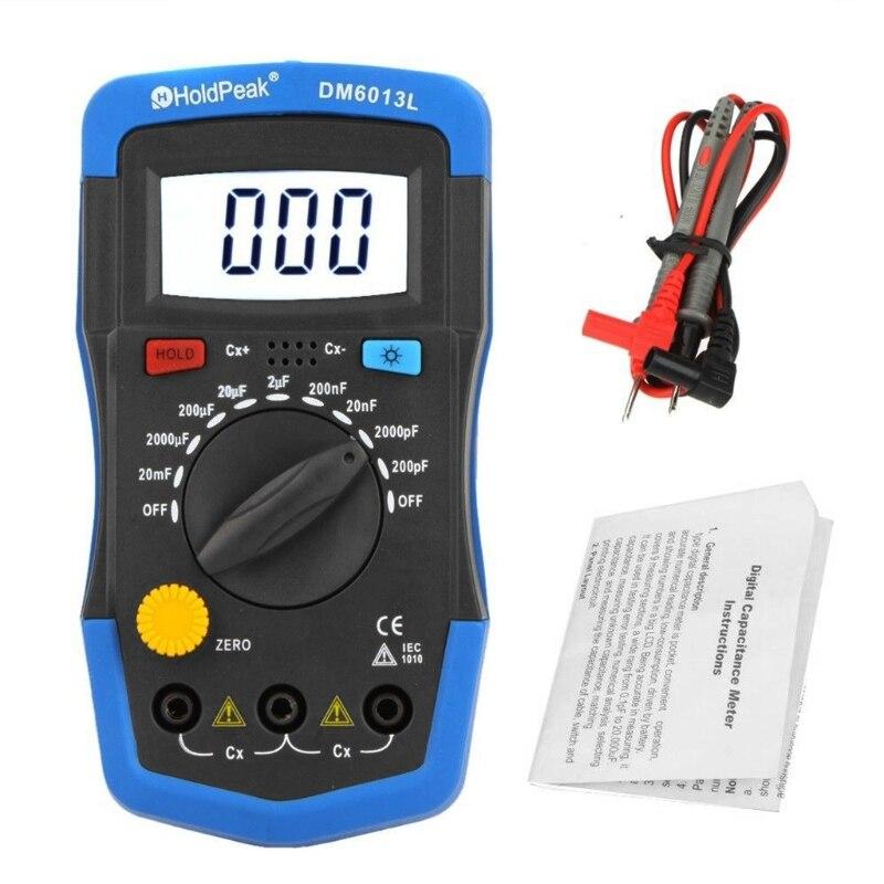 Ручной цифровой измеритель емкости тестер конденсатора емкость ЭЛЕКТРОННЫЙ АВТО