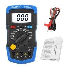 Handheld medidor de capacitância digital capacitor tester meter medidor automático eletrônico