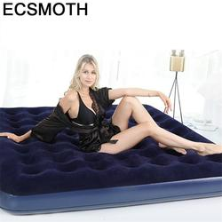 Odasi Moveis Moveis Para dla domu składane Meuble Chambre Mueble Bett moli sypialnia oświetlone meble Cama domu łóżko nadmuchiwane w Łóżka od Meble na