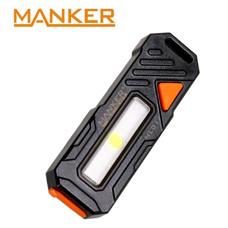 Manker ML01 High Power COB LED USB Rechargeable Flashlight For Night Jogging/Sanitantion Work/Police Officer/Cyclist