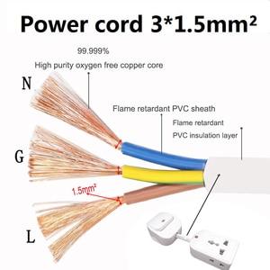 Image 5 - Evrensel soket güç şeridi ab İngiltere AU tak anahtarı kontrolü ile uzatma kablosu adaptör kablosu dönüştürme ev aletleri için