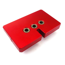 Aluminium alloy Punch locator Woodworking Tool Drilling Tools Wood Working Precise Self Centering Dowelling Jig