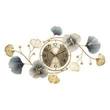 Horloge murale artistique moderne de Style chinois, grande horloge murale 3d de luxe, silencieuse et créative, décoration de maison pour Restaurant DL60WC