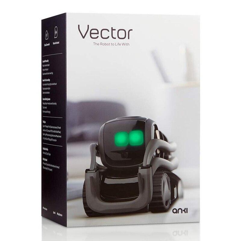 Juguetes de inteligencia Artificial, Robot de Vector para niños chicos cumpleaños, regalo, juguetes de Interacción de voz inteligentes, educación temprana para niños - 5