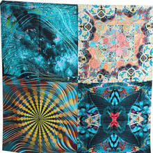 цена на KMS-Spirit of the peacock-New beautiful hand-rolled heavy twill silk square scarf 140*140cm/120G