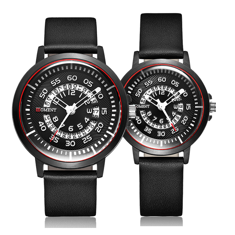 Couple Watch Men Women Unique Wrist Watches Lover Valentine's Day Gift Reloj Creative Date Wristwatch Sport Male Quartz Clock