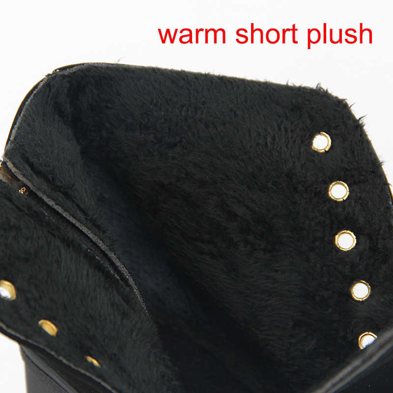 Sıcak Kadın Ayakkabı Sıcak Kadın Botları yarım çizmeler Kadınlar Kışlık Botlar Için Kadın Kış yüksek topuklu ayakkabı Patik bayan Botları