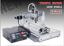 EU,AUS,Free TAX 4 axis CNC 6040 2200w 2.2KW USB port USB Mach3 CNC Router / Milling Machine/Engraver Engraving Machine 220V/AC