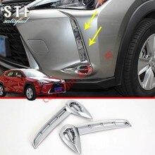 ABS Хром передний противотуманный светильник Накладка для Lexus UX UX200 250H 260H
