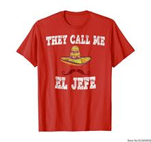 Camiseta con estampado De El Jefe, camiseta con mensaje De