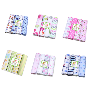 4Pcs/Lot Muslin 100% Cotton Flannel Baby Swaddles Soft Newborns Blanket Toddler Blanket Newborn Muslin Diapers Kids Swaddle Wrap professional10x20ft muslin 100