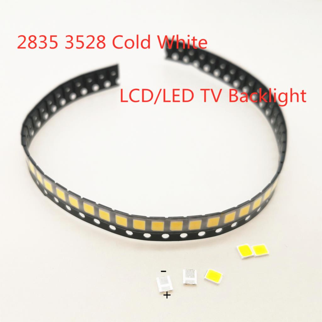 Original LED Backlight 1210 3528 2835 3V 1W 120 L LM Cool Cold White  For LG Innotek LCD Backlight LED TV Application