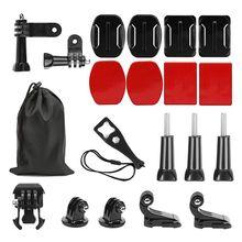 Action Camera Accessories Kit for GoPro Hero 7 Hero 6/Hero 5 4 3+ 3 SJCAM SJ4000 SJ5000 SJ6000 AKASO EK7000 Apeman A70 APEMAN