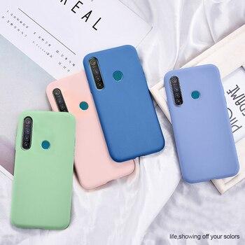 Перейти на Алиэкспресс и купить HATOLY, приятный для кожи чехол для Xiaomi Mi 9, жидкий силиконовый чехол s для Xiaomi Mi 9, тонкое мягкое ТПУ покрытие из микрофибры, Capas Xiaomi Mi 9