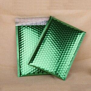50Pcs 18x23cm Bubble Bag Green