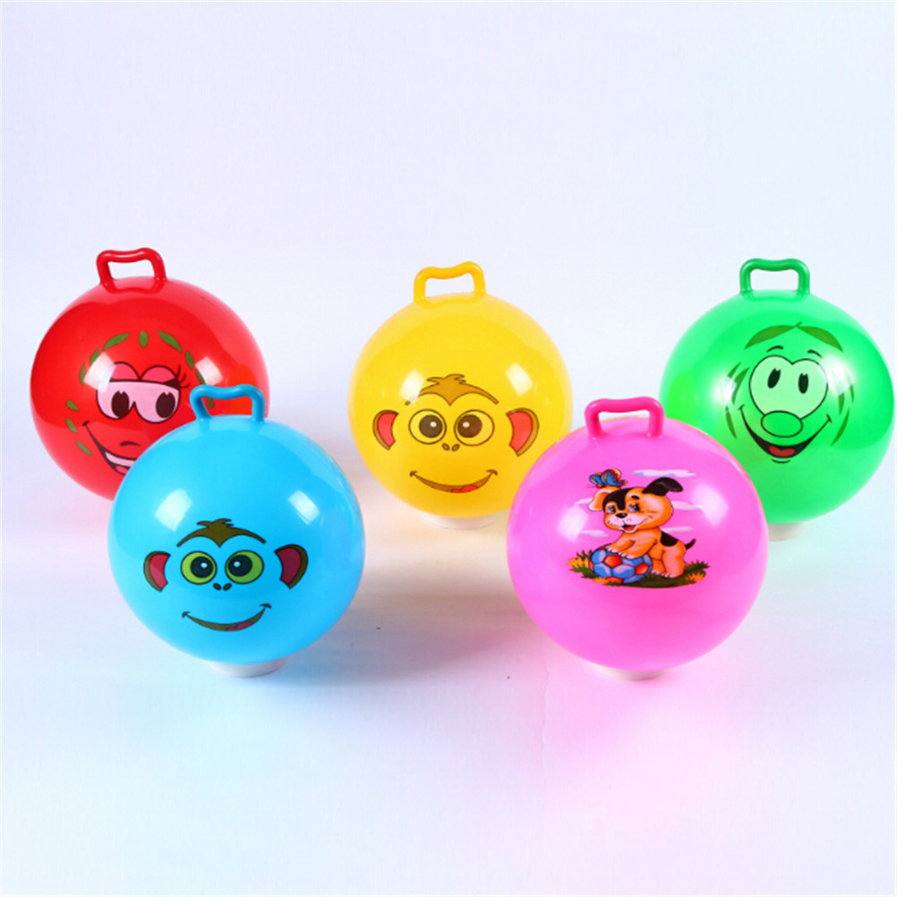 Bubble Balloon Ball With Handle Inflatable Funny Amazing Tear-Resistant Super Inflatable Balls For Kids Outdoor Play Toys