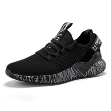 Mans Lace-Up Shoes Breathable Running Shoes Unisex Non Slip Sport Shoes Couple Casual Fashion Sneakers cozulma women candy color breathable canvas shoes lace up fashion sneakers female non slip casual shoes size 35 40