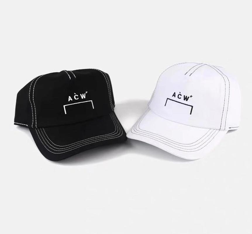 NEW A COLD WALL ACW Hat Caps Men Womens Visor Beanie Hip Hop Mickey Basketball Gift High Quality Pinting ACW Cap in Men 39 s Visors from Apparel Accessories