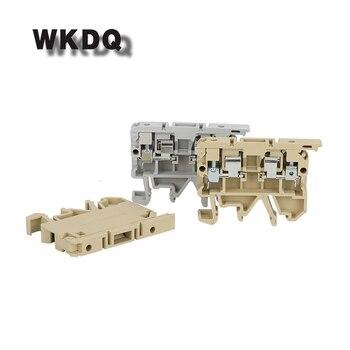 Portafusibles de riel Din, 10 Uds., ASK 1EN con fusible equivalente a weidmer 2