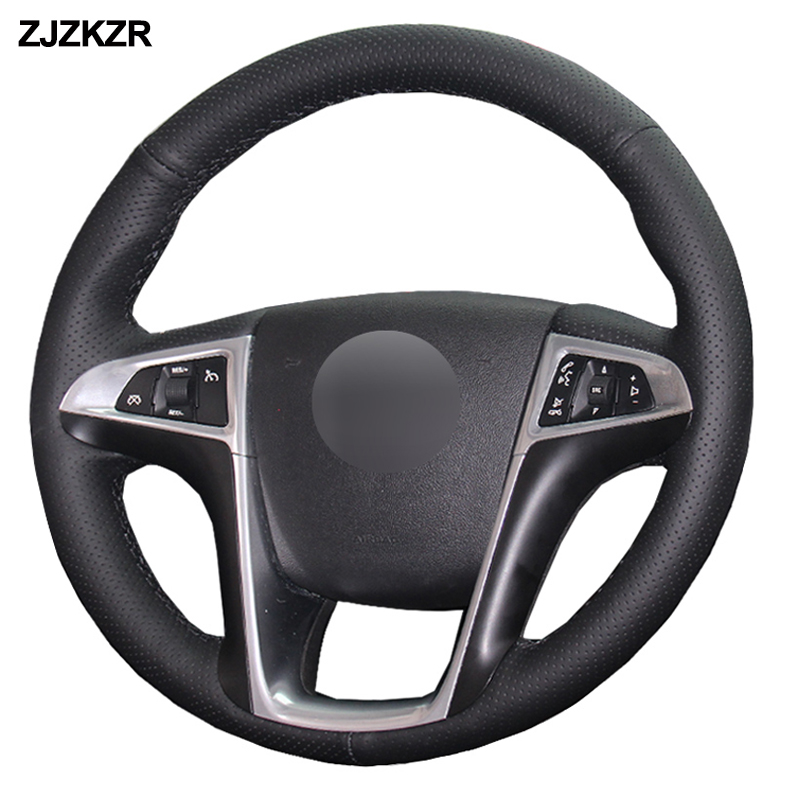 Car Auto Steering Wheel Cover For Buick Lacrosse 2010 2011 2012 2013 Regal 2011 2013 Chevrolet Equinox 2010 2013 2014 2015 2016|Steering Covers| |  - title=