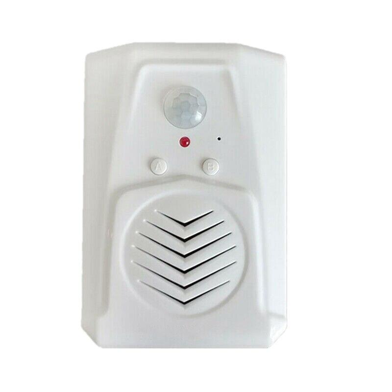 AAY-Sensor Motion Door Bell Switch MP3 Infrared Doorbell Wireless PIR Motion Sensor Voice Prompter Welcome Door Bell Entry Alarm