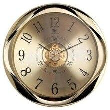 Диаметр 40 см золотые часы кварцевые часы Современные часы для гостиной лобби настенные часы 15 дюймов бесшумные часы для отеля домашний декор