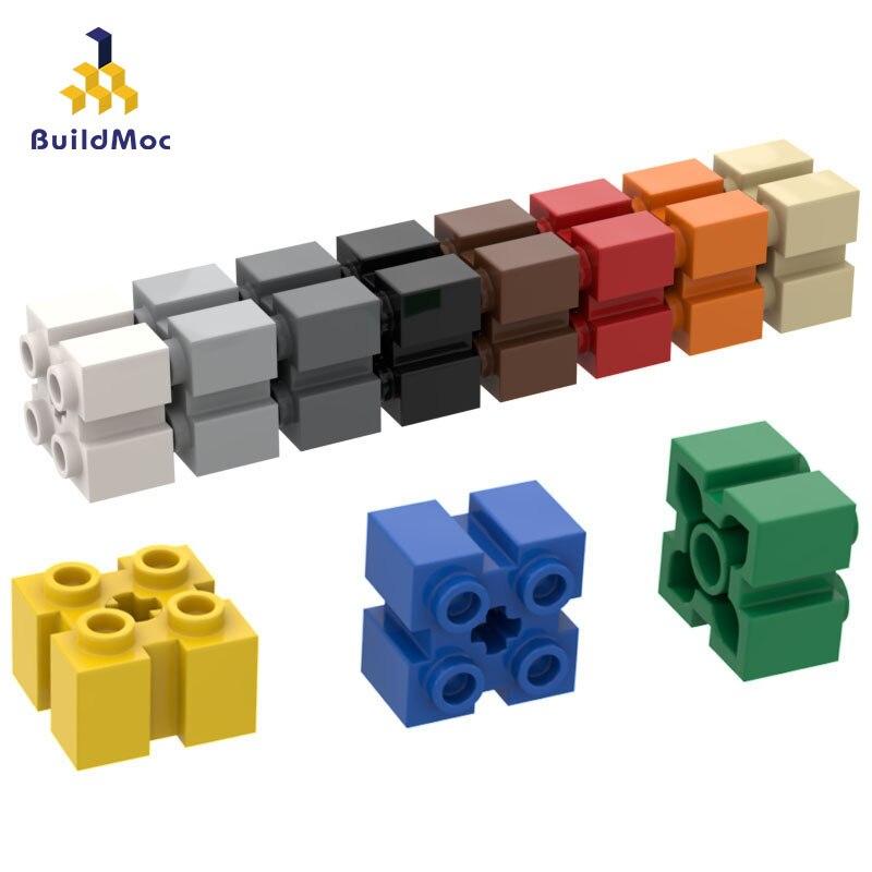 BuildMOC Compatible Assembles Particles 90258 2 X 2 Building Blocks Parts DIY LOGO Educational Creatives Gift Toys
