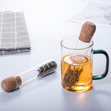 Glass Tea Infuser Creative Pipe Glass Design Tea Strainer For Mug Fancy Filter