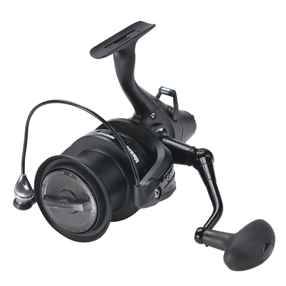 12+1 BB Spinning Reel with Front  Rear Double Drag Carp Fishing Reel Left Right Interchangeable for Saltwater Freshwater