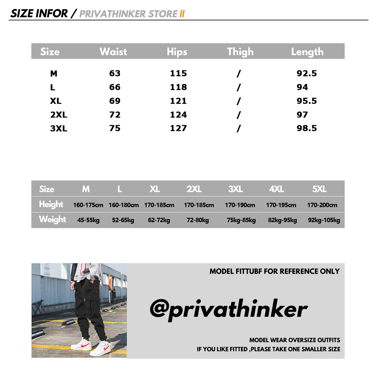Image 5 - Privathinker Men Black Joggers Pants Summer 2019 Mens Big Pockets Ankel Cargo Pants Male Spring Streetwear Overalls Sweatpants-in Sweatpants from Men's Clothing