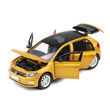 1/32 פולקסווגן כל חדש פולו בתוספת סימולציה צעצוע כלי רכב מודל סגסוגת ילדי צעצועי אמיתי רישיון אוסף מתנה Off  כביש רכב ילדים