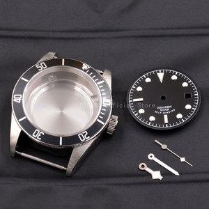 Image 5 - علبة ساعات 41 مللي متر كورجوت ساعة يد مرصعة بالنحاس 316L S استيل صالح ايتا 2836/2824 Miyota8215 821A حركة للرجال