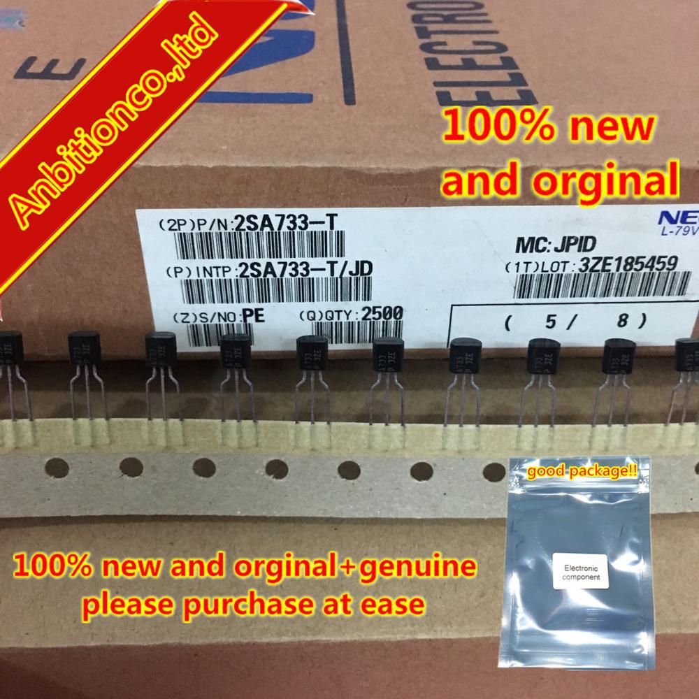 20pcs  100% New And Orginal 2SA733-T A733 TO-92 In Stock