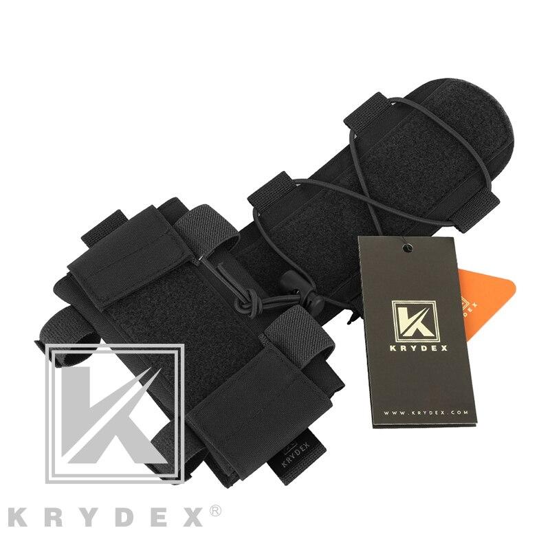 Bolsa para Combate Sistema de Retenção Krydex Tático Bateria Pacote Capacete Acessório Armazenamento Contrapeso Gpnvg-18 Caixa Mk1