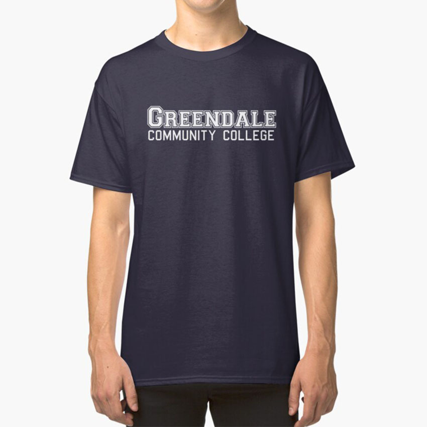 Greendale Community College T - Shirt Community Tv Show Series Greendale Community College University Troy Abed
