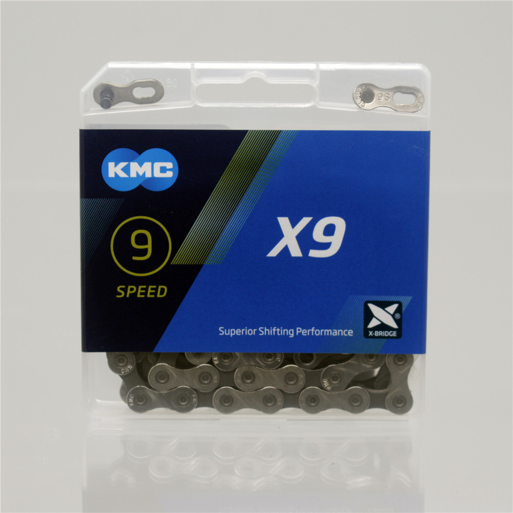 KMC Vélo Chaîne X8 X9 X10 X11 X12 Vélo Chaîne 8/9/10/11/12 Vitesse Route VTT Pédalier SRAM 8 9 10 11 12 s Dérailleur 116L