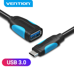 Vention USB Type c OTG Adapter OTG Cable USB 3.0 Female to USB C Male Cable for Huawei Samsung MacBook OTG Type -C Adapter