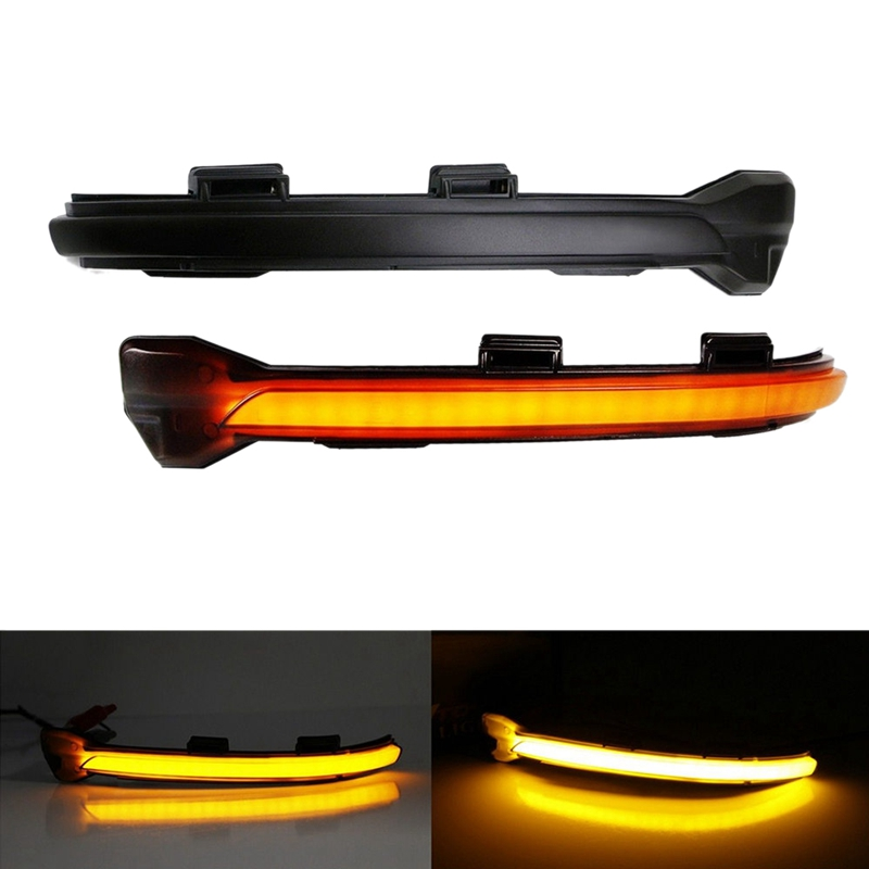 Dynamic Turn Signal Led Rearview Mirror Indicator Light For-Vw Golf Mk7 7.5 7 Gti R Gtd
