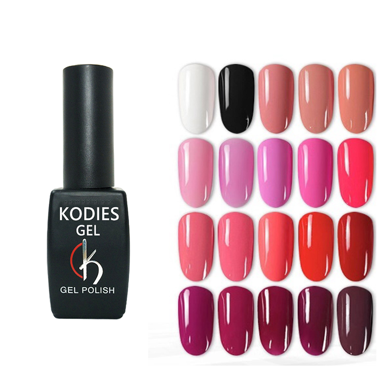 1 PCS KODIES GEL UV LED Gel Nagellack Langlebige Soak off Gel Lack 8ML Gel Lack Primer gellak Gelpolish für Nail art