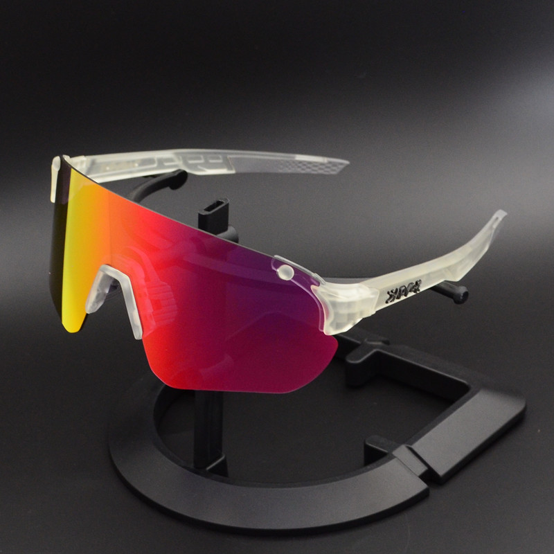 New Cycling Glasses Sports Men Sunglasses Road Mountain Bike Bicycle Riding Protection Goggles Eyewear sport sunglasses 4 Lens