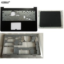 Capa para laptop inspiron 15-5000 5545 5547 15m, capa inferior/base menor caso/touchpad dp/n 0whc7t
