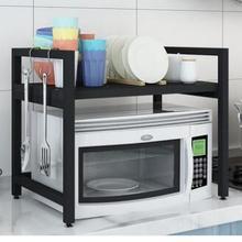Подставка в микроволновую печь кухонные стеллажи 2 слоя стойка для печи стойка двойная стойка для кухонных приборов