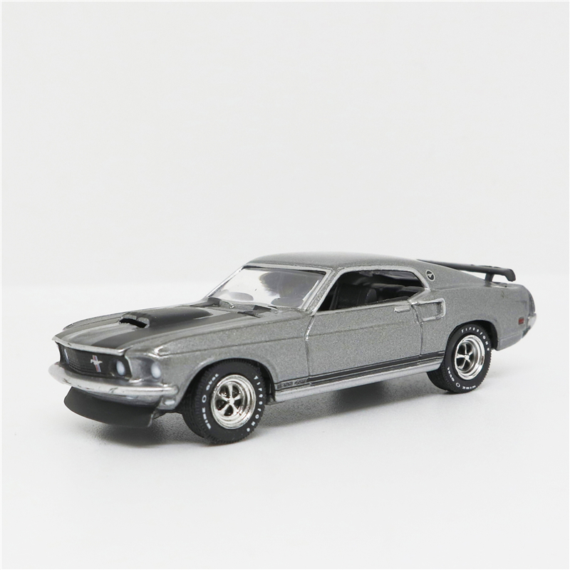 Greenlight 1:64 Ford Mustang Boss 429 Gray/Black No Box