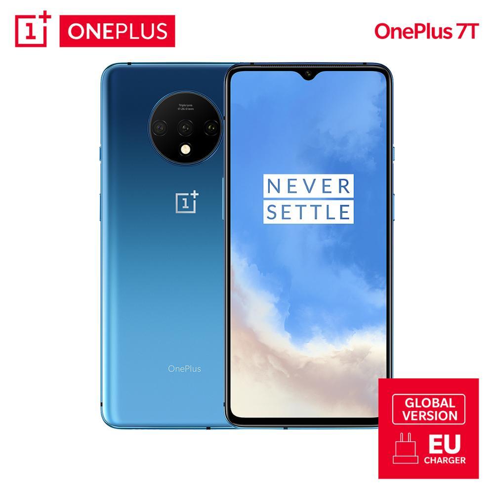 OnePlus 7T Global Version 8GB 128GB Snapdragon 855 Plus Octa Core 48MP Triple Cameras 90Hz Fulid OnePlus 7T Global Version 8GB 128GB Snapdragon 855 Plus Octa Core 48MP Triple Cameras 90Hz Fulid AMOLED 3800 mAh UFS 3.0 NFC
