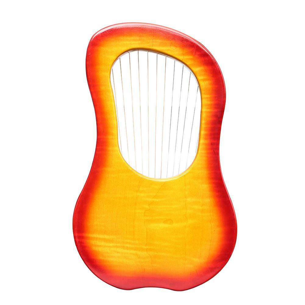 Hohe qualität GK 15MC 15 String Holz Leier mit Wasserdichte Tragen Tasche String Instrument Set - 3