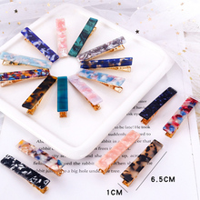 3Pcs/Set Fashion Hair Clips For Women Acetate Acrylic Geometric Girls Headband Sweet Hairpins Barrettes Accessories Set