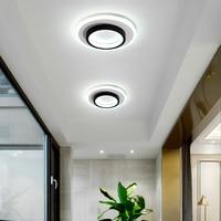 Verllas modernas luzes de teto led para o quarto lâmpada cabeceira corredor varanda varanda minimalista conduziu a lâmpada do teto