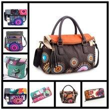 Design Inclined 2019 spain bag embroidered shoulder messenger bag